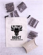 Personalised Bulltong Biltong Bag