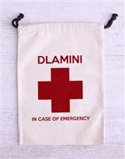 Personalised Emergency Stash Biltong Bag