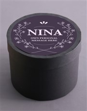 Personalised Elegant Fruit and Nut Hat Box