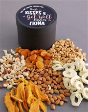 Personalised Hugs Fruit and Nut Hat Box