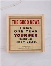 Personalised Good News Snack Crate