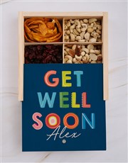 Personalised Get Well Snack Crate