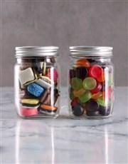 Personalised Mini Sweets Jars of Love