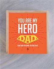 Personalised My Hero Treasure Box