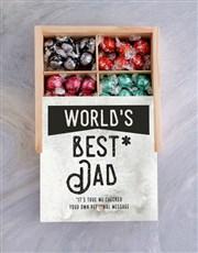 Personalised Worlds Best Dad Treasure Box