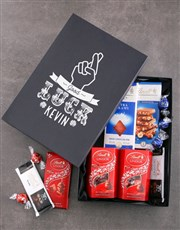 Personalised Good Luck Lindt Box