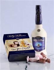 Personalised Sally Williams Love Liqueur Hamper