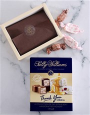 Personalised Sally Williams Thank You Delights