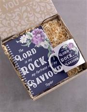 Personalised My Saviour Mug and Notebook