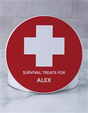 Personalised Survival Gourmet Tin