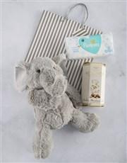 New Baby Nougat and Elephant Gift Bag