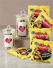 Love You Maynards Candy Jar