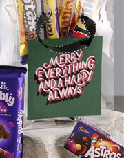 Merry Everything Choc Treat Bag