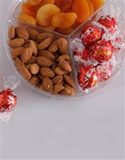 Chocolate with Fruit and Nut Snack Tub
