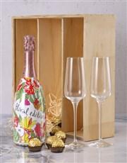 Valdo Floral Prosecco Crate