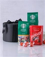 Starbucks and Lindt Hamper