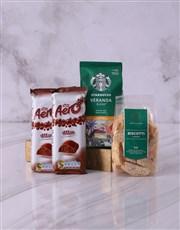 Starbucks and Aero Hamper