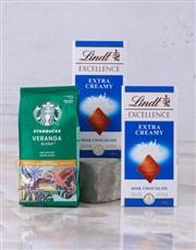 Starbucks and Lindt Slab Hamper