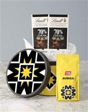 Vida Auriga Coffee Hat Box
