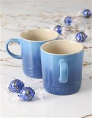 Marseille Le Creuset Mugs and Chocolate