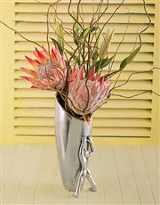Carrol Boyes Vase Large - Leaning Man