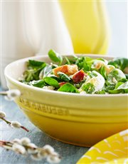 Buy a beautiful pasta bowl in bright lemon yellow
