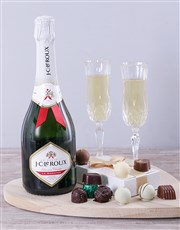 Send a gift of JC Le Roux & chocolate truffles to