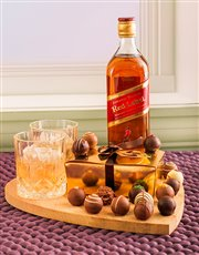 Johnnie Walker Red & Chocolate Truffles