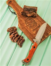 All men love to eat Biltong, included in this hamp