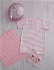 A dapper outfit for a dapper baby girl. This gift