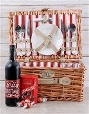 Make it a Merry Christmas with a  picnic basket wi