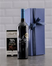 Wine and chocolate go together like nothing else,