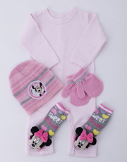 Winter With Minnie Mouse Nappy Cake