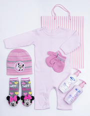 Spoil the new baby girl with this adorable Minnie