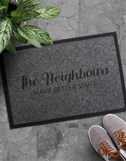 Spoil someone special with this quirky doormat! A