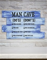 Every man cave has its rules, so make sure they ar
