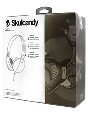 Burgundy Skullcandy Anti Headphones