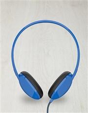 Blue Skullcandy Anti Headphones