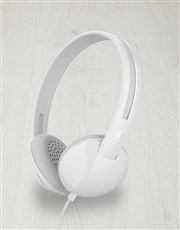 White Skullcandy Anti Headphones
