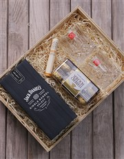 Make his day with this wooden man crate which is f