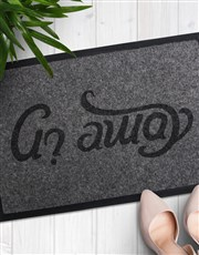 This doormat will make an awesome addition to any