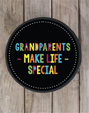 Grandparents Make Life Special Choc Hat Box