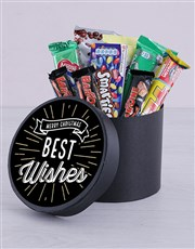 Best Wishes Chocolate Hat Box
