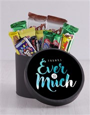 Show your gratitude with this treat-filled hat box