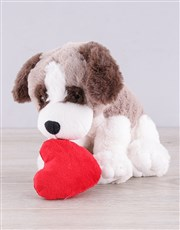 Be the sender of smiles with this adorable dog hea