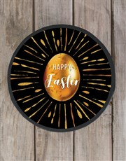 Personalised Gold Egg Easter Hat Box