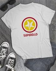 Super Dad White Tshirt