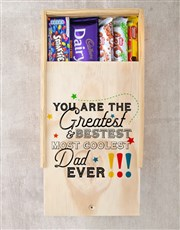 Greatest Dad Ever Chocolate Tray