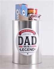 Legendary Dad Bro Bucket