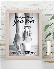 Find What You Love Framed Wall Art